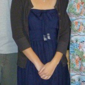 Modcloth Dresses - Navy Blue Dress